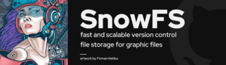 Snowtrack – a new version control software for graphic designers and 3D artists