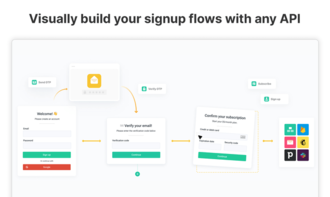 Arengu - Build signup flows with any API in minutes