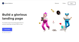 Build a glorious landing page